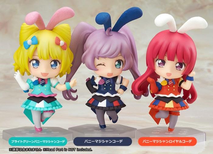 Nendoroid Co-de Dress Up Bunny Magician PriPara GSC Wonder Excl pics 01