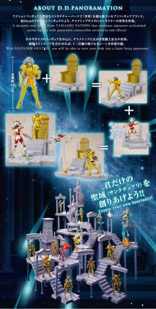 Saint Seiya- Pegasus Seiya D.D. Panoramation Bandai Itakon.it -0001