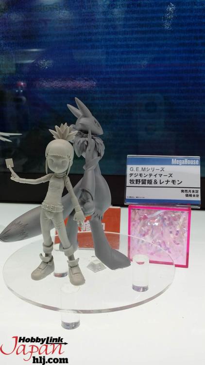 """Makino Ruki & Renamon linea G.E.G. da """"Digimon Tamers"""""""