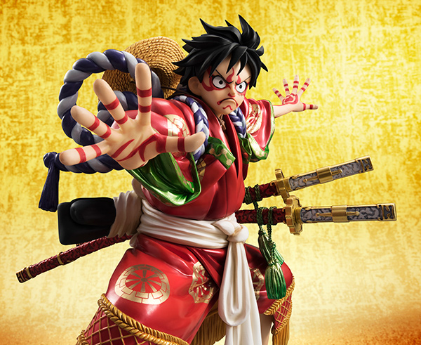 Monkey D Luffy Kabuki POP - One Piece MegaHouse pre 07
