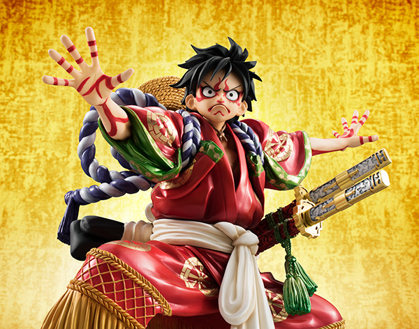 Monkey D Luffy Kabuki POP - One Piece MegaHouse pre 12