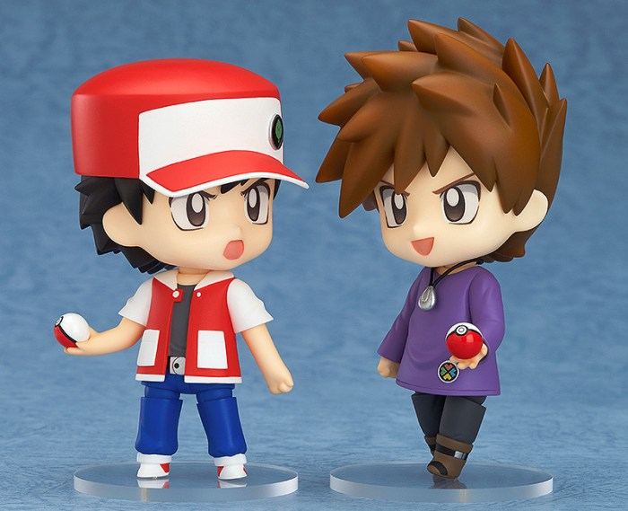 Nendoroid Pokémon Trainer Red & Green GSC pre 04