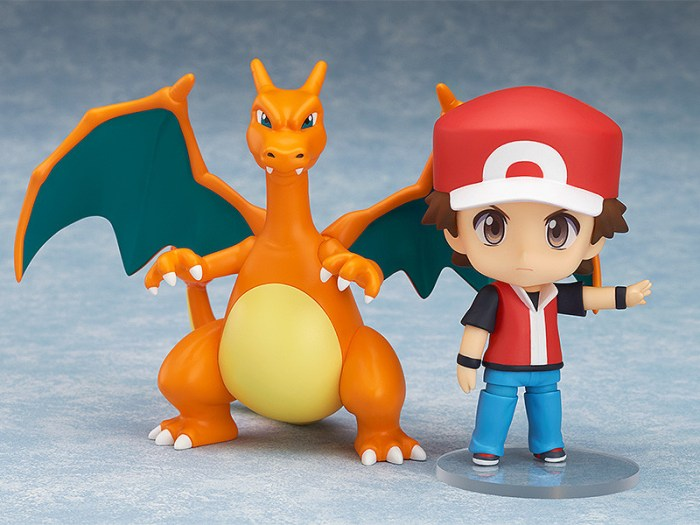 Nendoroid Pokemon Trainer Red Champion Ver GSC pre 03