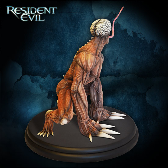 Resident-Evil-Licker-Statue-006