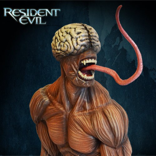 Resident-Evil-Licker-Statue-007