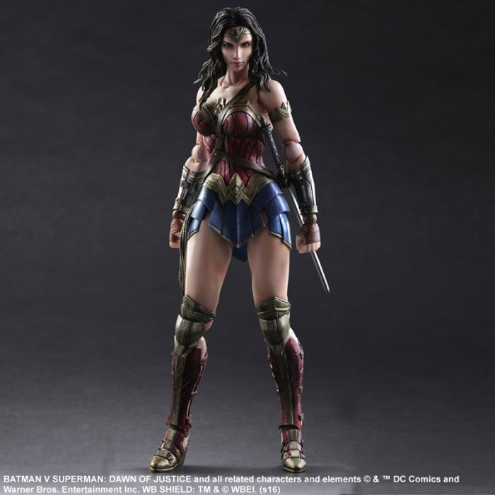 Wonder Woman Batman Vs Superman Square Enix pre 01
