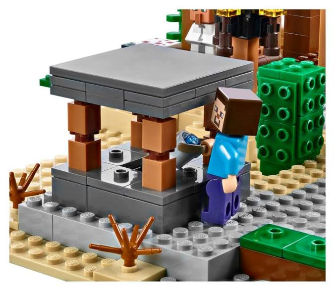 LEGO-Brown-Foliage-Piece-from-The-Village-21128