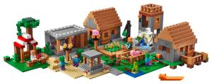 LEGO-Minecraft-Villagers-Minifigures-with-The-Village-21128-Set