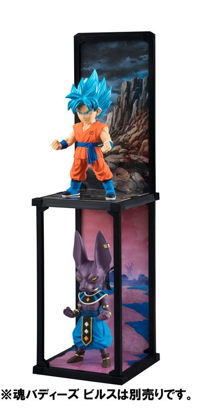 Goku Super Saiyan God SS Tamashii Buddies Dragon Ball Super Bandai pre 06