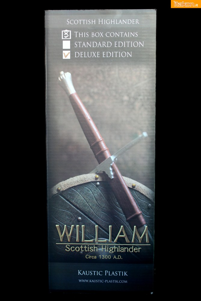 William Scottish Highlander - Kaustic Plastik - Recensione - Foto 02