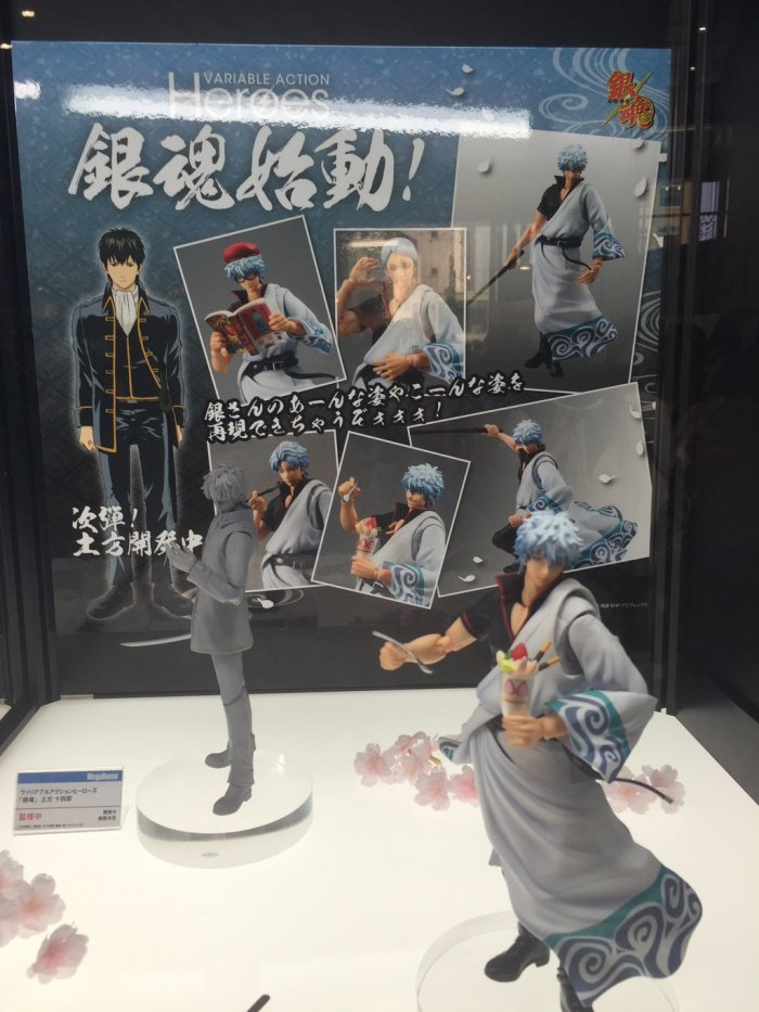 Arrivano le Variable Action Heroes anche per Gintama!