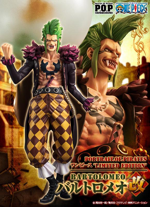 Bartolomeo POP One Piece MegaHouse pre 13