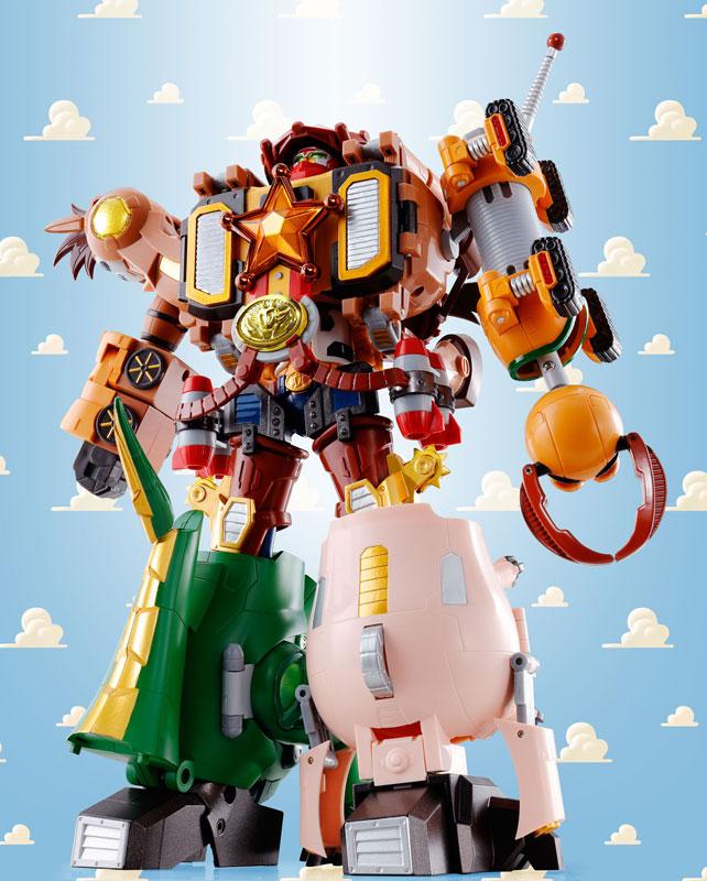Chogattai Woody Robot Sheriff Star1