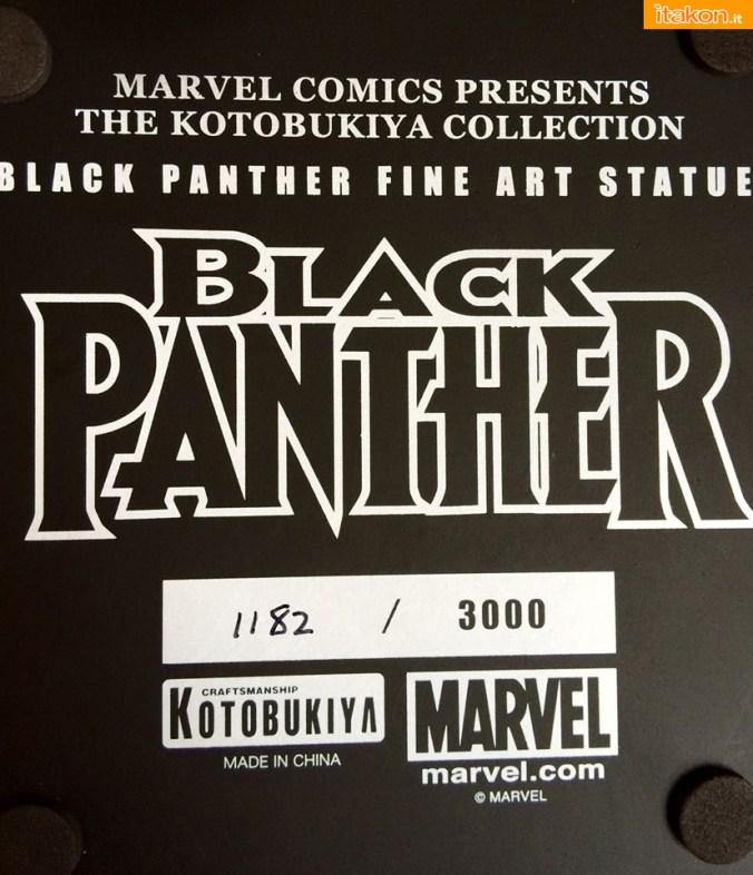 Marvel Comics Black Panther Fine Art Statue - Kotobukiya - Recensione Bossborot - Foto 06