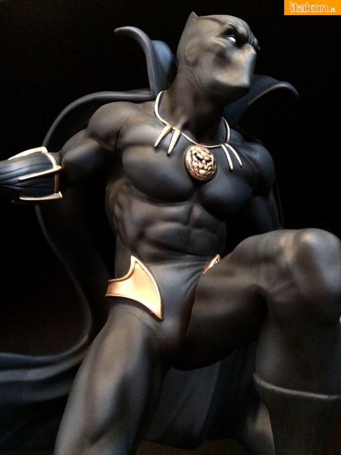 Marvel Comics Black Panther Fine Art Statue - Kotobukiya - Recensione Bossborot - Foto 24