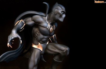 Marvel Comics Black Panther Fine Art Statue - Kotobukiya - Recensione Bossborot - Foto 32