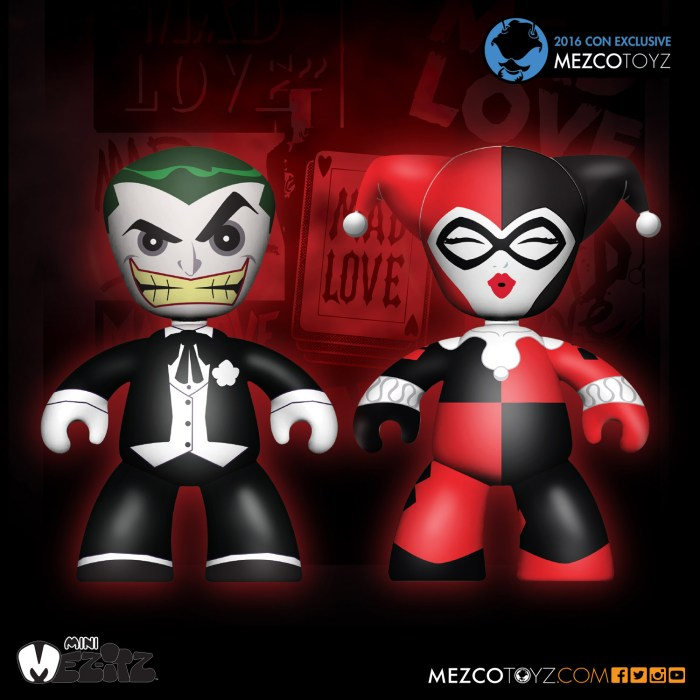 DC Comics – Mez-Itz Joker and Harley Quinn Mad Love 2-Pack