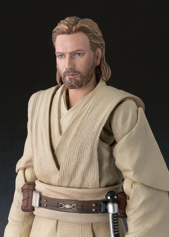 Obi-Wan Kenobi SH Figuarts Star Wars Bandai pre 06