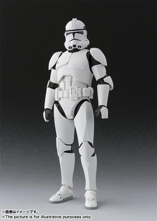 Star Wars Clone Trooper SH Figuarts Bandai pics 02
