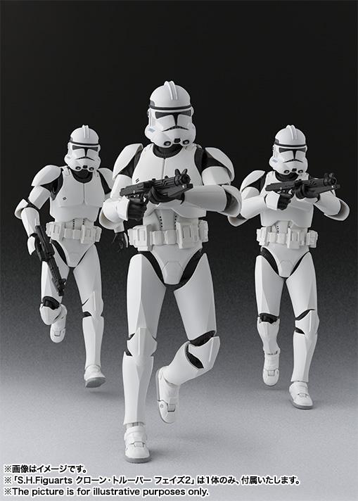 Star Wars Clone Trooper SH Figuarts Bandai pics 06