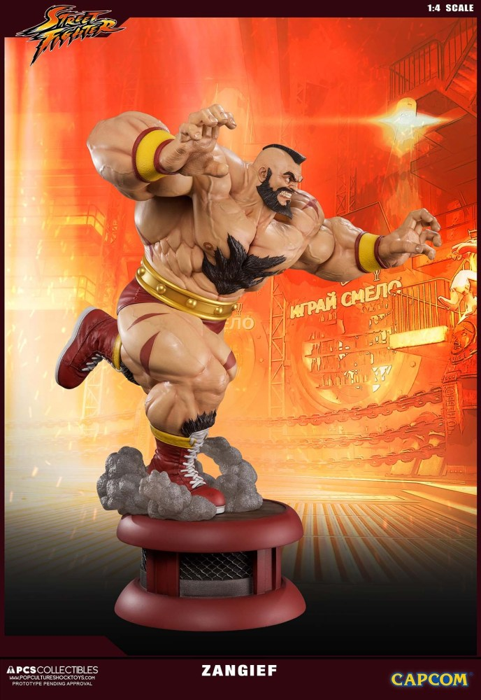Zangief Street Fighter PCS 3 19