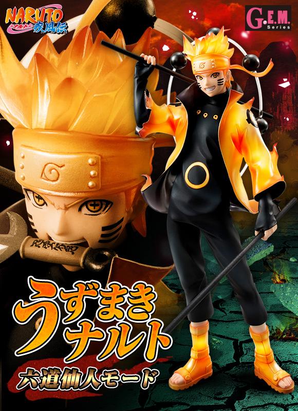 Uzumaki Naruto Rikudou Sennin Mode - MegaHouse - Rubrica AntiBootleg - Foto 18