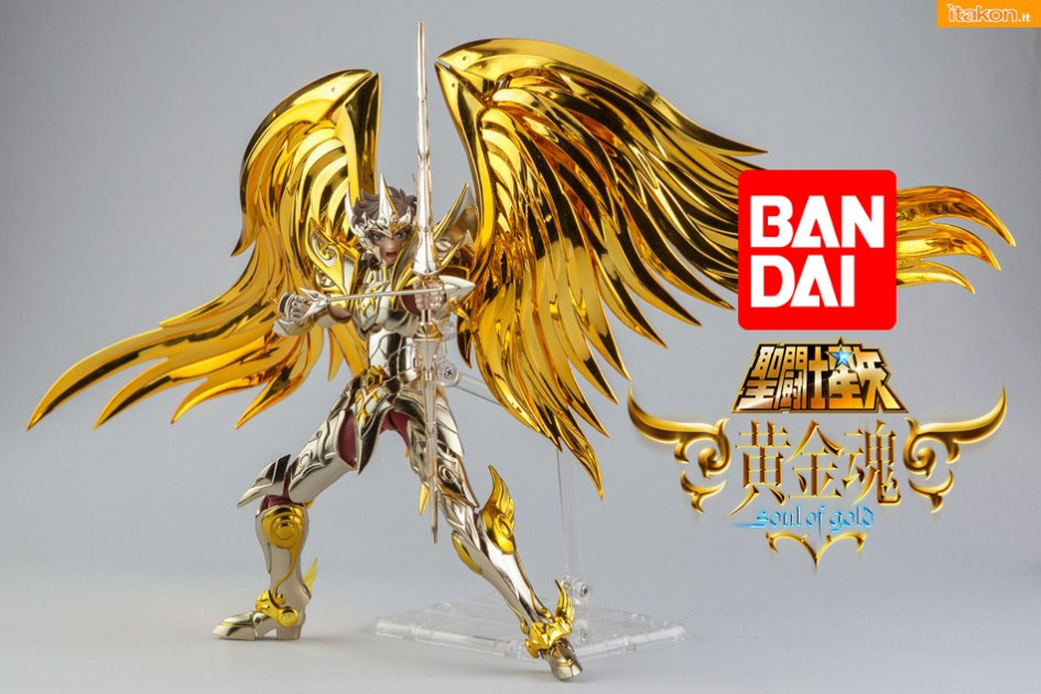 Saint Seiya: Soul Of Gold – Aiolos Sagittarius Myth Cloth EX di Bandai – Recensione