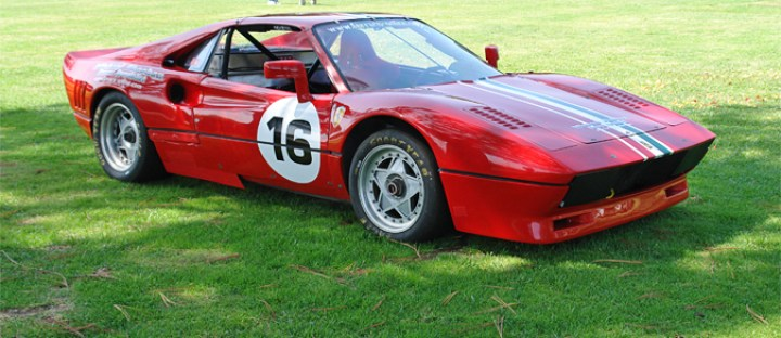 Ferrari Scca Vintage Race Car Jim Carpenter S Italian