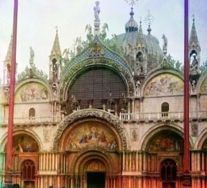 St. Mark's Catedral in Venice, circa 1906.