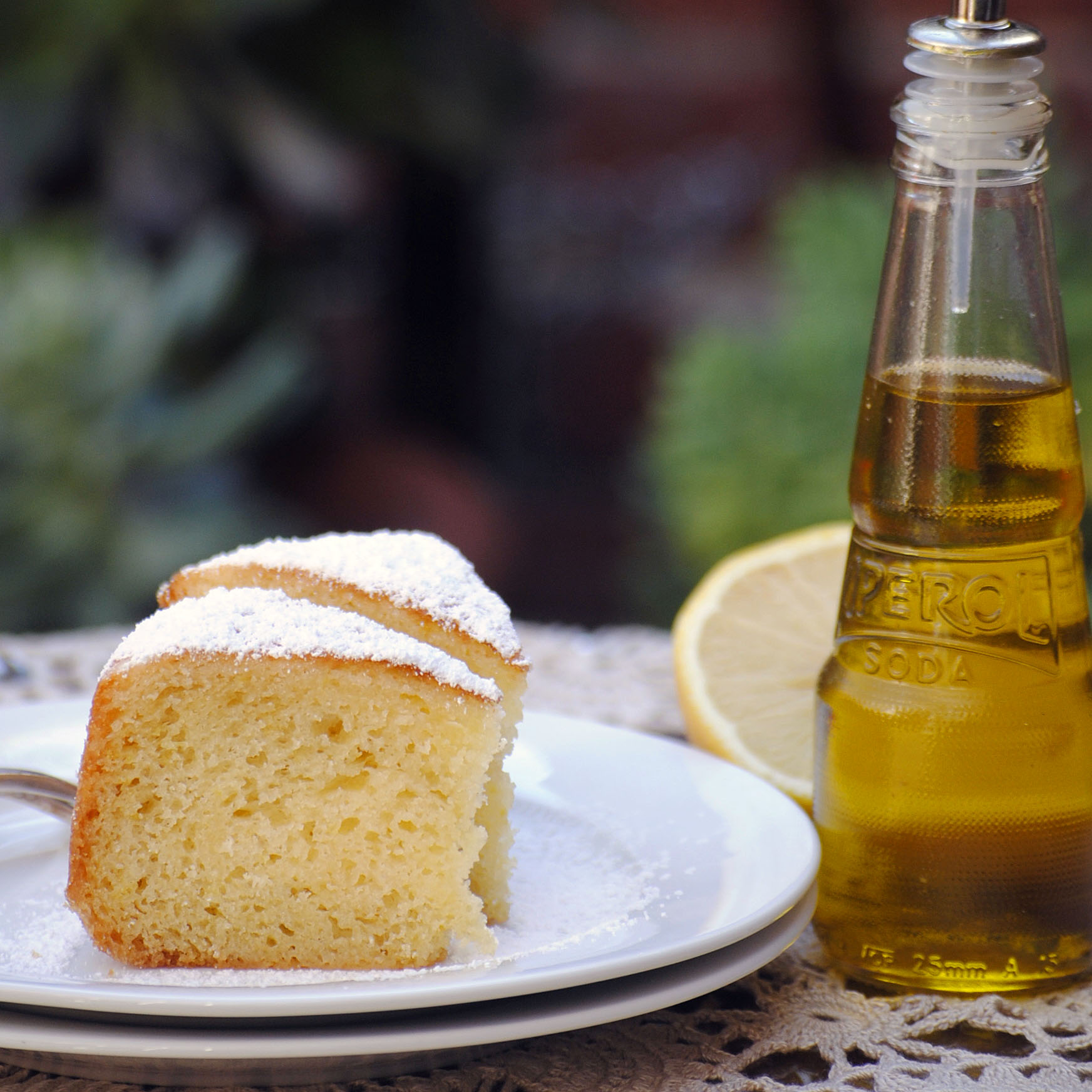 Lemon olive oil cake | italy on my mind