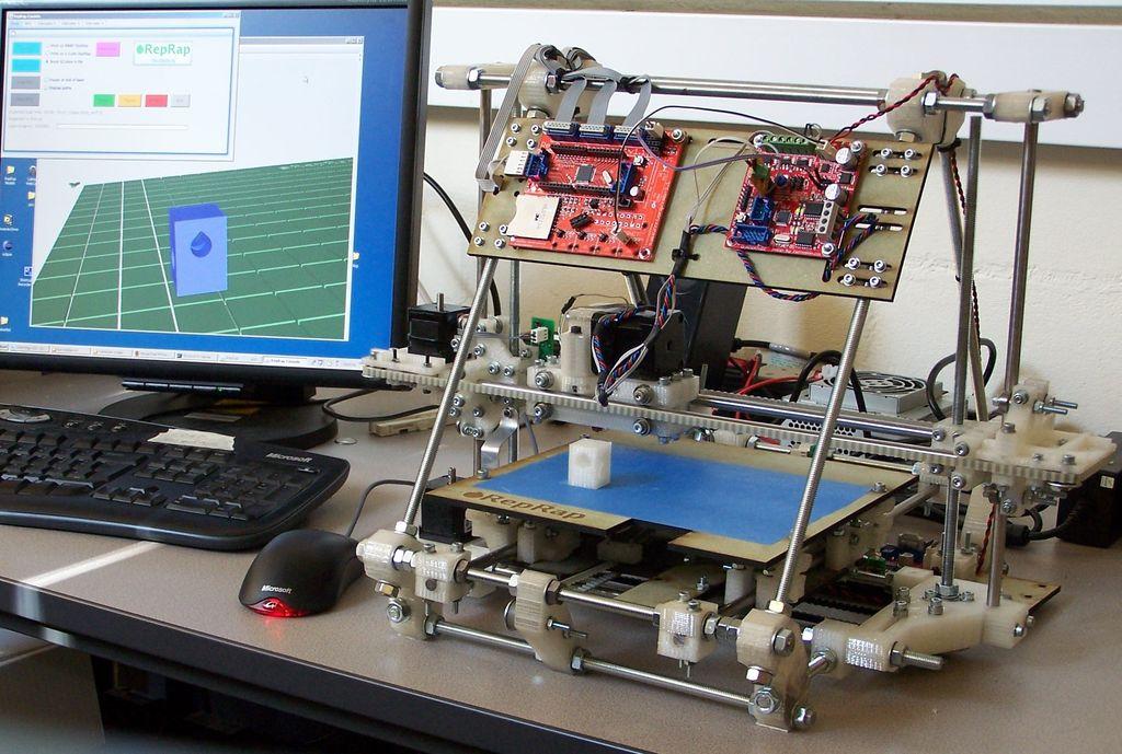 D принтер как это работает