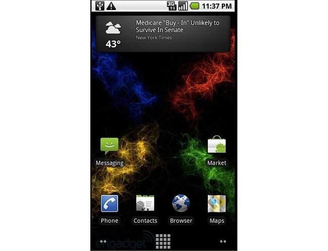 Версия Android 2.1