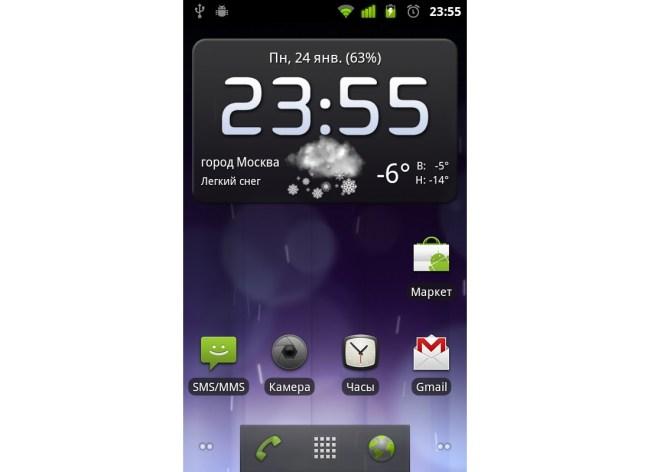 Версия Android 2.3