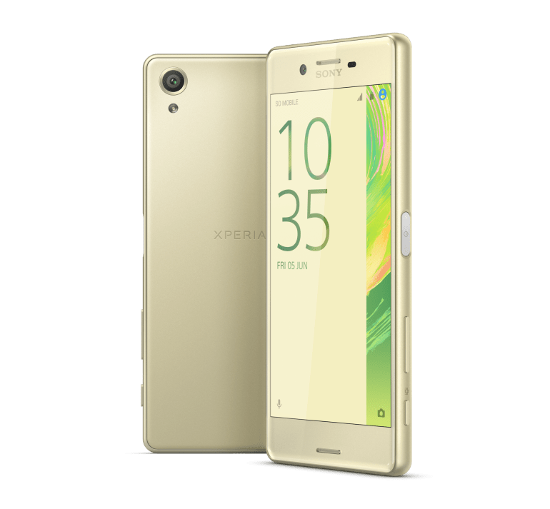 Xperia X Gold Group