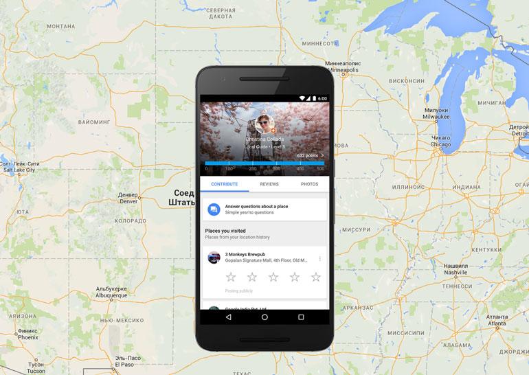 Внедрены новые функции в Google Maps для участников программы «Местные эксперты»