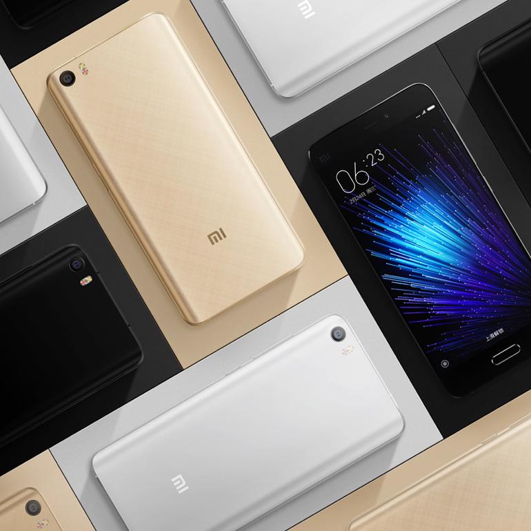 Состоялся официальный релиз смартфона Xiaomi Mi 5