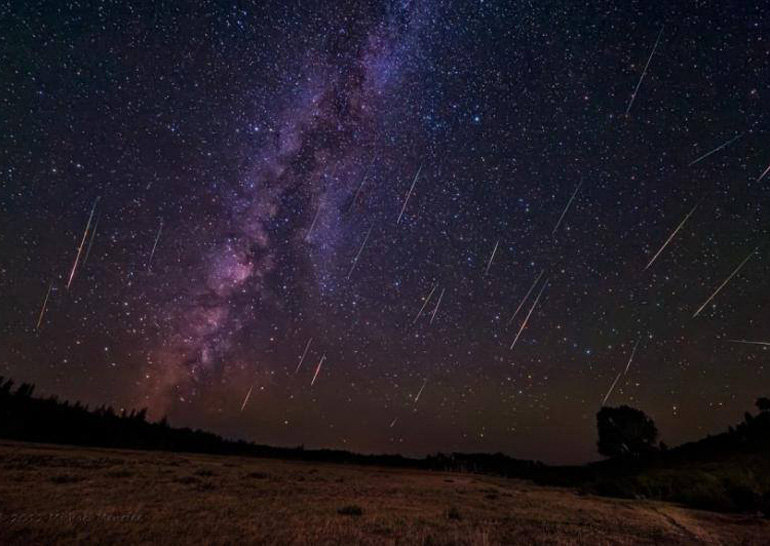 С 11 по 13 августа в Украине можно будет наблюдать максимальный поток Персеид – до 200 метеоров в час