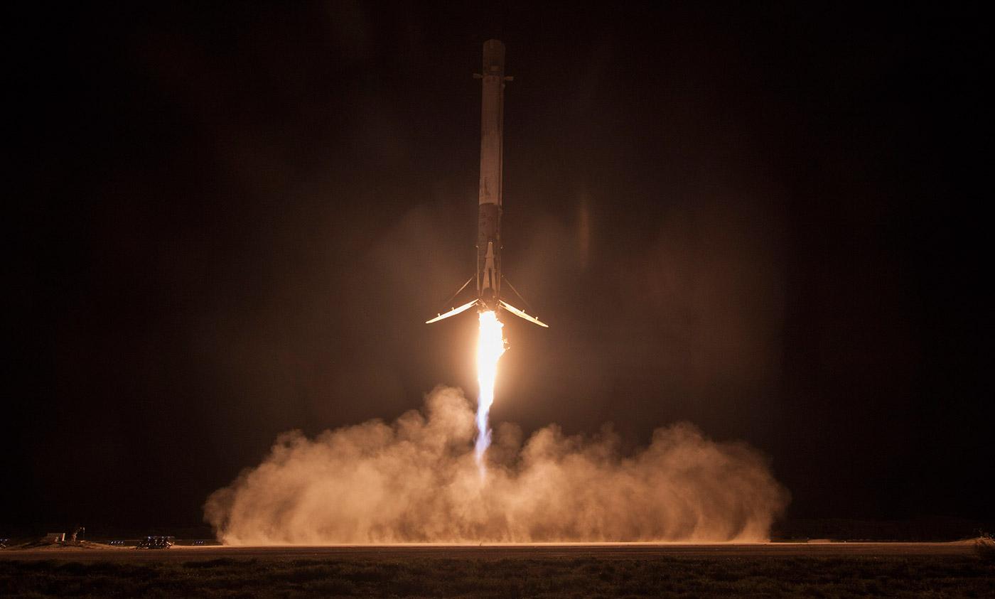 SpaceX обнародовала необычные кадры запусков ракет