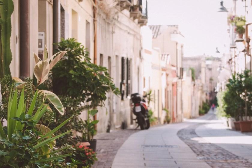 Die Altstadt von Cagliari