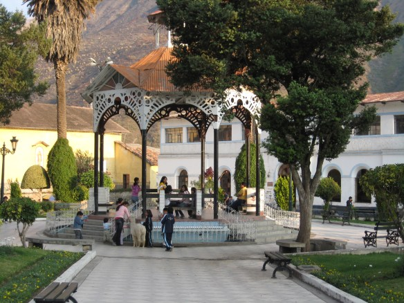 Main square, Abancay, Peru