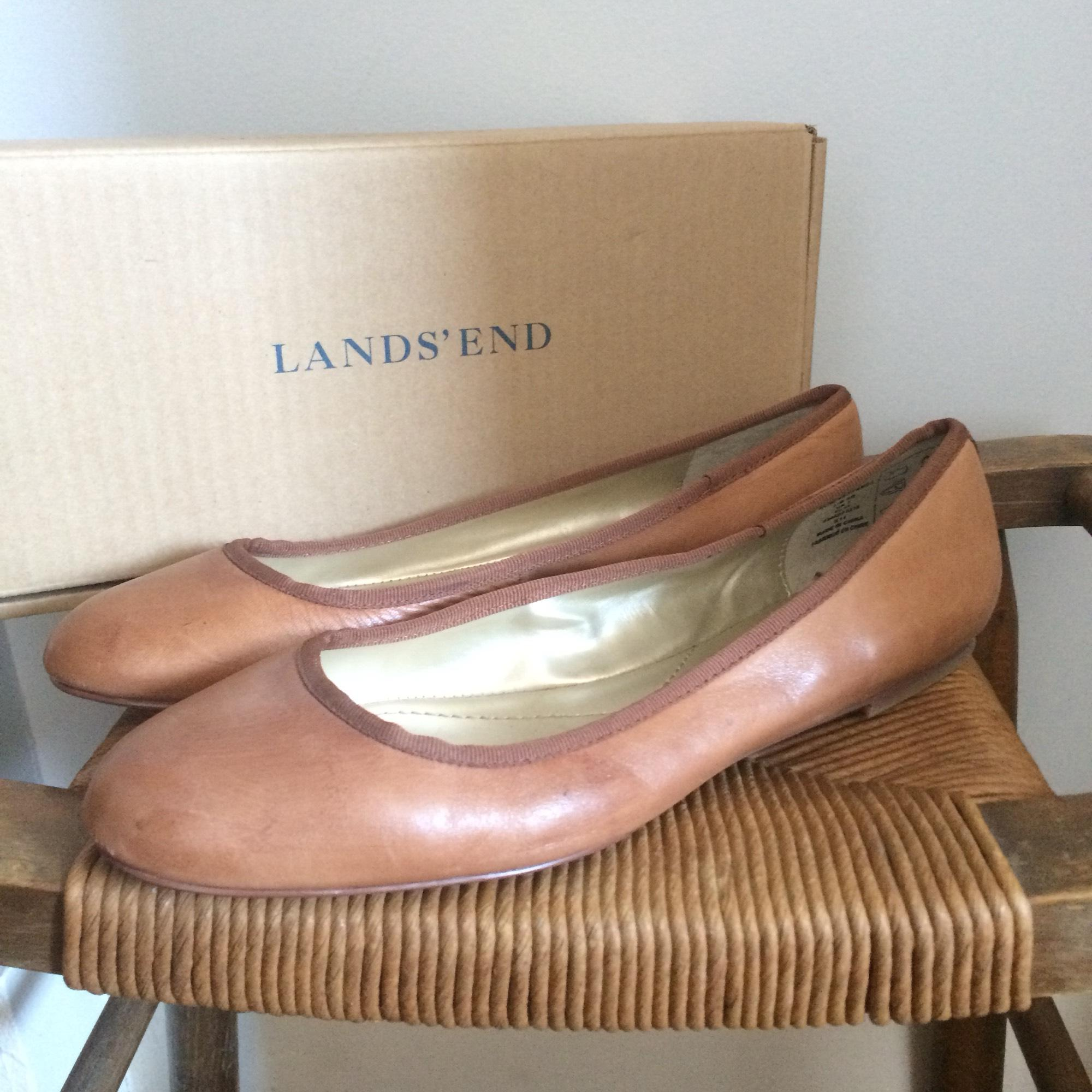 Comely End Luggage Tan End Luggage Tan Emma Classic Ballet Flats Size Us Regular Lands End Monogrammed Bag Lands End Luggage Competition baby Lands End Luggage