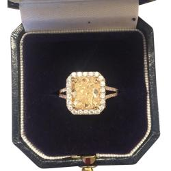 Small Crop Of Gold And Diamond Source