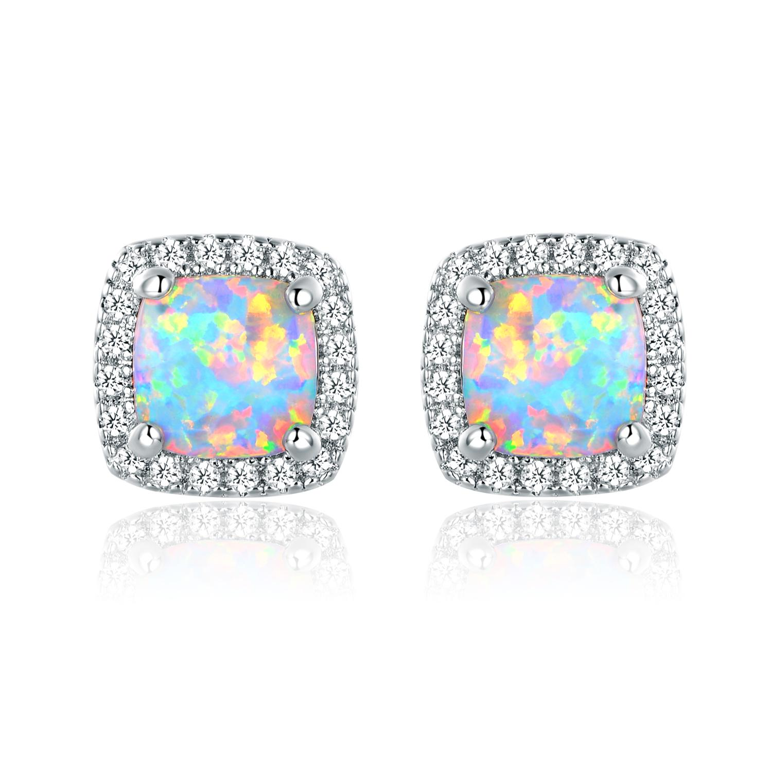 Fullsize Of Opal Stud Earrings