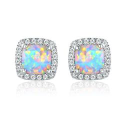 Small Of Opal Stud Earrings