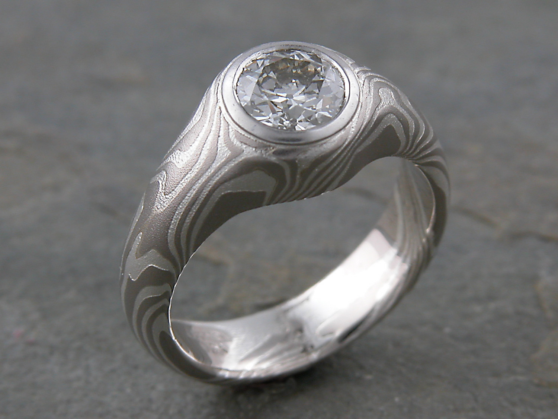 mokume gane wedding rings mokume gane wedding bands Mokume gane wedding rings Binnion