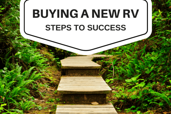 Buying a new RV. Steps to Success