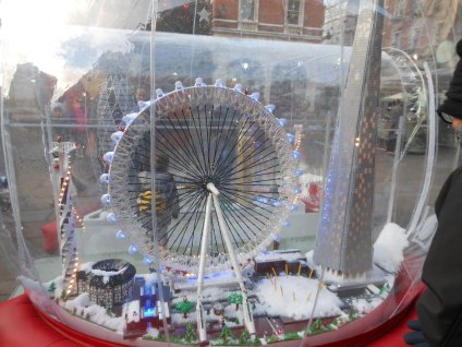 Il London Eye (Covent Garden 2013)