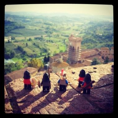 Vista dalla Rocca federiciana