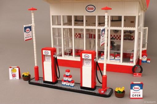 "Le pompe di benzina ""vintage""."