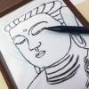 フェリシモ 疲れたこころをオフにできる1日10分なぞり描き プチ写仏プログラムで10分間のオフタイムを